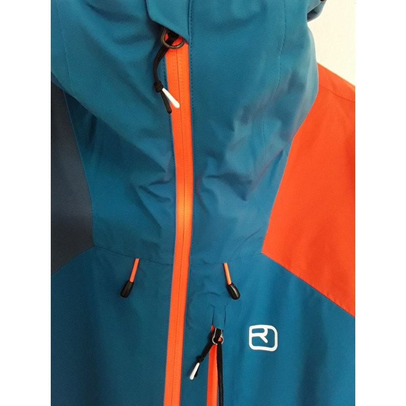 Ortovox 3L Ortler Jacket Regenjacke Just Blue | S
